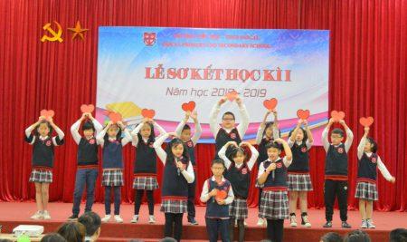 Trường Pascal tổ chức Lễ Sơ kết học kì I năm học 2018 – 2019