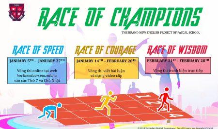 """Khởi động Dự án """"Race of Champions"""" 2019"""