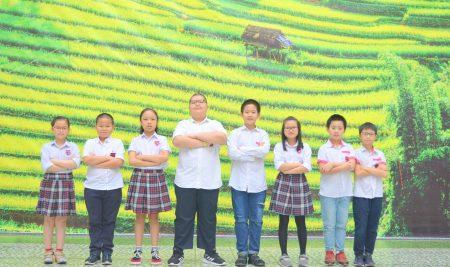8 học sinh trường Pascal đạt thành tích cao cuộc thi Olympic Tiếng Anh cấp Quận