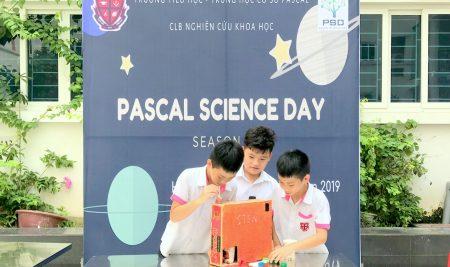 """Học sinh trường Pascal """"trình làng"""" nhiều sản phẩm khoa học """"có một không hai"""" trong """"Pascal Science Day 2019"""""""
