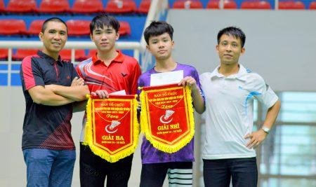 Học sinh trường Pascal xuất sắc giành 2 giải cao môn cầu lông cấp Quận
