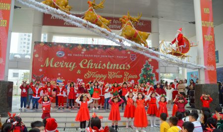 Mùa Giáng sinh của yêu thương và hạnh phúc tại trường Pascal!