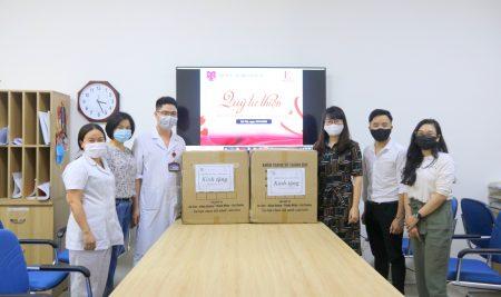 Trường Pascal gửi tặng 10.000 khẩu trang y tế ủng hộ các y, bác sĩ Bệnh viện E