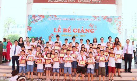 Trường TH – THCS Pascal tưng bừng tổ chức Lễ bế giảng năm học 2019 – 2020