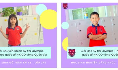 Passers Tiểu học giành giải tại cuộc thi Olympic Tin học quốc tế HKICO 2020