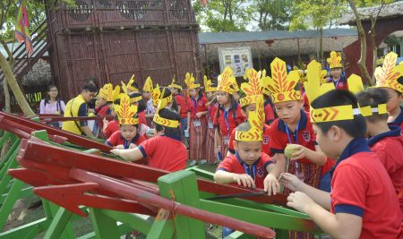 Passers học tập và trải nghiệm Trang trại học đường Vạn An