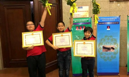 Passers giành giải 3 cuộc thi Sáng tạo Thanh Thiếu niên Nhi đồng toàn quốc năm 2018