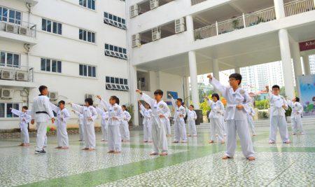 Câu lạc bộ Taekwondo trường Pascal – rèn luyện ý chí, phát triển thể lực