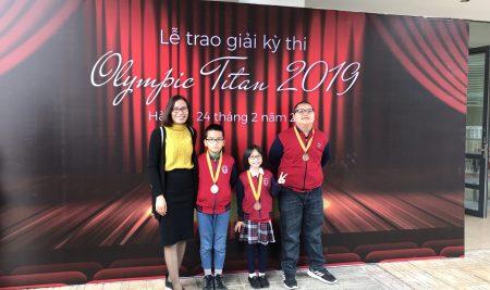 Đội tuyển Toán trường Pascal giành 16 Huy chương cuộc thi Olympic Toán TITAN 2019