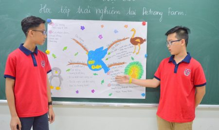 Dự án học tập trải nghiệm bổ ích giữa Học kì II tại De Trang Farm