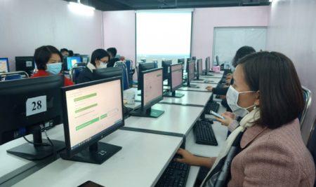 Truyền hình Thông Tấn đưa tin: Trường Pascal dạy học online cho học sinh phải tạm nghỉ học phòng dịch bệnh