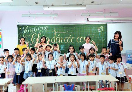 Niềm vui ngày tựu trường năm học 2020 – 2021