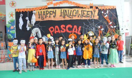 Lễ hội Halloween gắn kết yêu thương tại trường Pascal