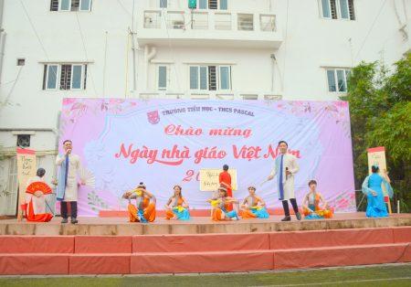 Trường Pascal long trọng tổ chức lễ mít tinh kỉ niệm ngày Nhà giáo Việt Nam 20 – 11