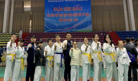 Đội tuyển Taekwondo trường Pascal đạt thành tích cao tại giải thể thao học sinh Quận Bắc Từ Liêm năm học 2020 – 2021