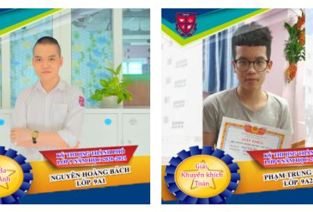 Chúc mừng Passers đạt giải Kỳ thi HSG thành phố lớp 9 năm học 2020 – 2021