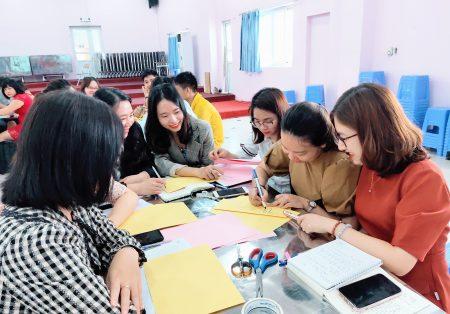 Tập huấn Xây dựng văn hóa trường học tại trường TH – THCS Pascal
